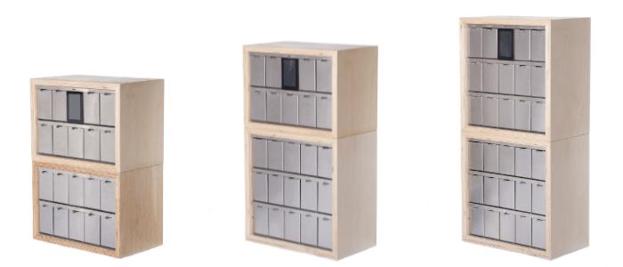 Keyguru modulární boxy pro sestavu dle vašich požadavků
