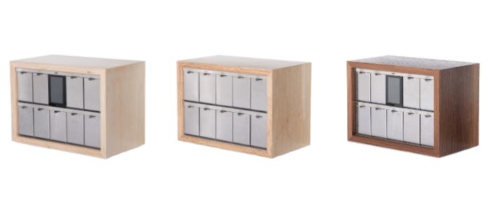 Keyguru 9 a 10tipřihrádkové boxy